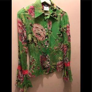Dolce & Gabbana Silk Floral Shirt